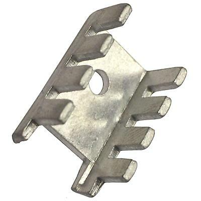 TO-220 TO-126 Transistor Heat Sink Aluminium  ( PACK OF 10 )