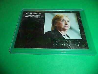 DECISION 2016 SERIES 2 WORLD LEADERS GREEN FOIL FLAG PATCH DONALD TRUMP WL01