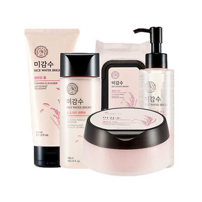 [The Face Shop] Rice Water Bright Cleansing ( Foam/Oil/Remover/Cream/Tissue )