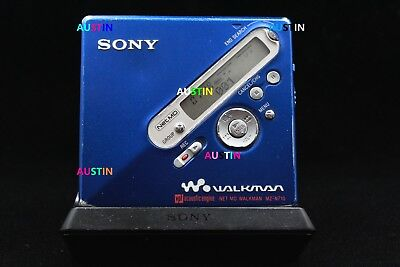 Sony Mz N710 Md  Minidisc With Sony Microphone, Batteries..