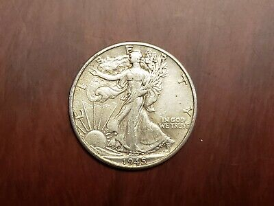 90% Silver Walking Liberty Half Dollar Average Circulation