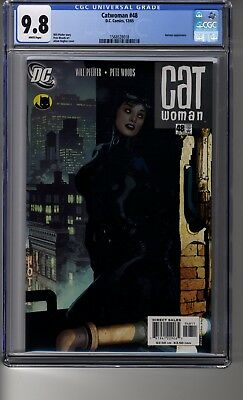 Catwoman (2002) # 48 - CGC 9.8 White Pages - Adam Hughes Cover - Batman, Cheetah