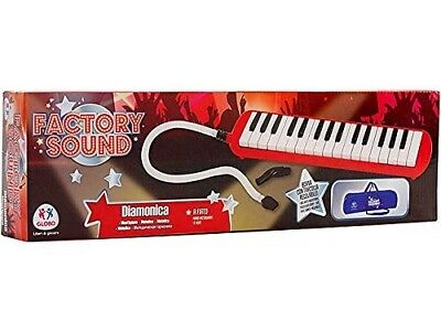 Globo Toys Globo - 37453 Factory Sound 32-Keys Blow Organ with Case
