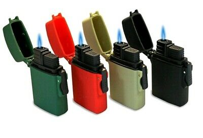4x NEW Eagle Torch Butane Refillable Waterproof Windproof Adjustable Lighters