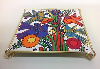 """Villeroy & Boch """"Acapulco"""" Pattern Teapot Stand."""