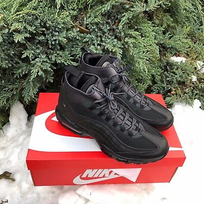 huge discount 32829 17118 Nike Air Max 95 Sneakerboot Black Anthracite White Winter 8.5-13US DS 806809 -001