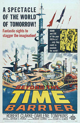 BEYOND THE TIME BARRIER - Classic 1959 Sci-Fi Time Travel Movie