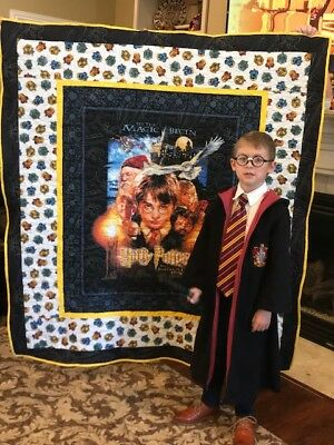 Harry Potter Quilt custom made for you! Blanket bedding comforter