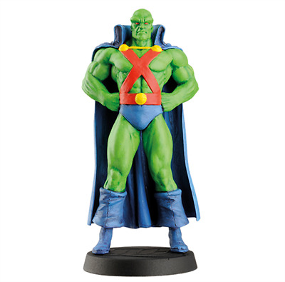 Martian Manhunter Figurines 30 DC Comics Super-Héros Eaglemoss 10cm Comics Films