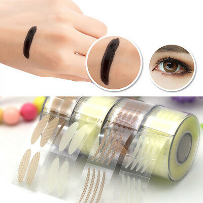 Fashion Invisible Double Eyelid Adhesive Tape Stickers Eyes Makeup Tool P&
