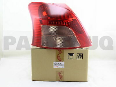 8156152480 Genuine Toyota LENS, REAR COMBINATION LAMP, LH 81561-52480