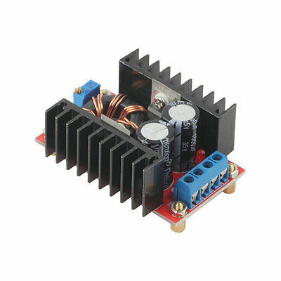 150W DC-DC Boost Converter 10-32V to 12-35V Step Up Charger Power Module GH