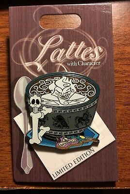 2018 Pin Of The Month Lattes With Character HADES Disney LE3000 Hercules