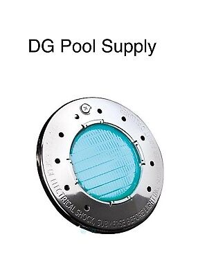 Jandy WaterColors LED SS Face12V 100' Cord Pool and Spa Light CSLVRGBWS100