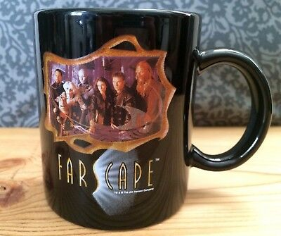 Farscape Photo Ceramic Coffee Mug Ben Browder Claudia Black Jim Henson