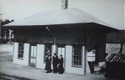 Eastham, Massachusetts Railroad Depot Real Photo Postcard- RPPC
