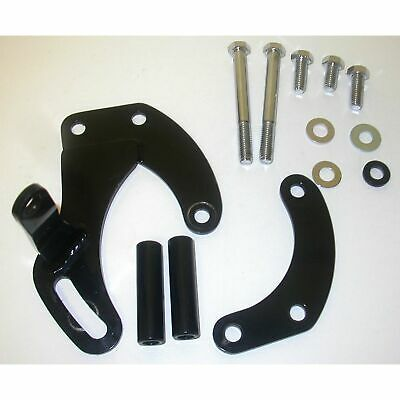 """RPC - Racing Power Co R3815 Sbc""""Short""""style Blk Power Steering Bracket Assembly"""