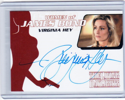 2014 Archives 007 Autograph Virginia Hey Asrubavitch Woman Of James Bond