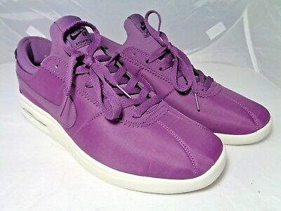 NIKE SB MENS AIR MAX BRUIN VAPOR SKATEBOARDING SHOES PRO PURPLE AA4257 Sz  10.5 4cd0f6aa0
