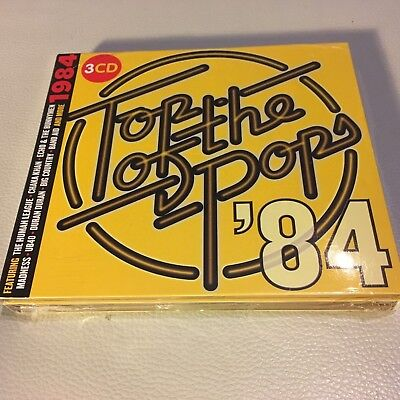 Top of the Pops 84 - NEW & SEALED 3 x CD Set - FREE FAST UK POST!!