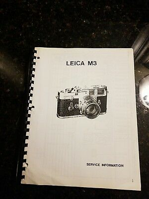 Leica Leitz RARE Service Manual 172 pgs. MANY SCHEMATICS WITH PART # and repair