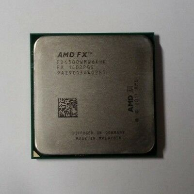 Amd Fx 6300 Six Core 3 5ghz Processor Socket Am3 Used Working