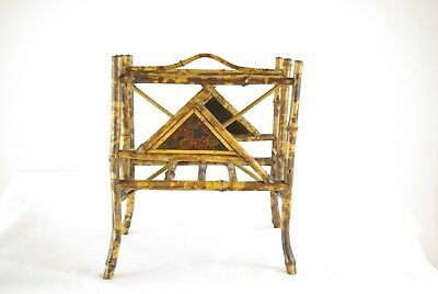 Bamboo Furniture, Victorian Bamboo, Magazine Rack, Canterbury, Scotland, B1248