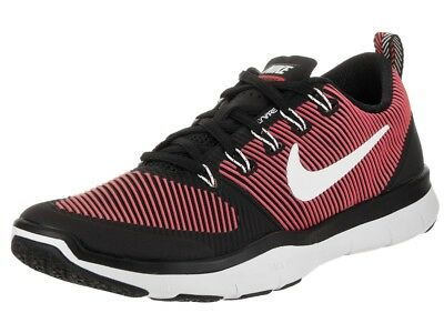 best website 0707f a14b9 Nike Mens Free Train Versatility Black White Red Training Shoes Size 11M