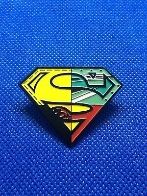 DC Comics Reign Of The Supermen Enamel Pin