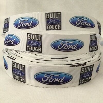 """Ford built tough grosgrain ribbon 1"""" sold by 2 M - Craft - Cake"""