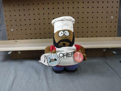 Rare South Park Plush Talking Chef with tags Fun 4 ALL 7 1/2 inch tall works