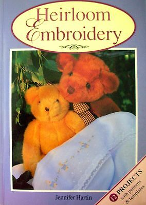 Heirloom Embroidery by Jennifer Hartin (Paperback, 1998)
