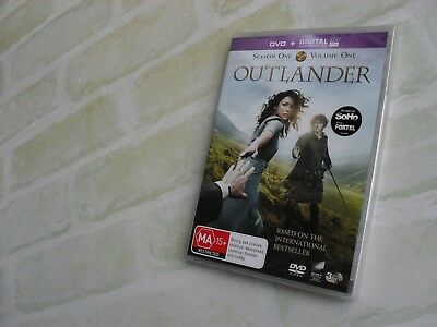 Outlander - Season One - Volume One - Region 4 Pal - 3 Disc Dvd - New Sealed