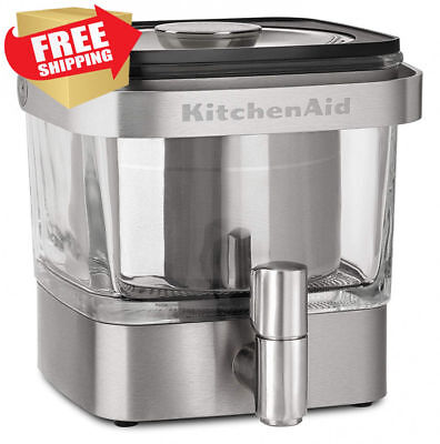 KitchenAid - Cold Brew Coffee Maker - KCM4212SX - Brushed Stainless Steel - NEW