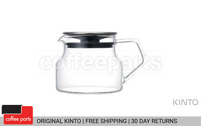 NEW Kinto 450ml Cast Heat Resistant Glass Teapot