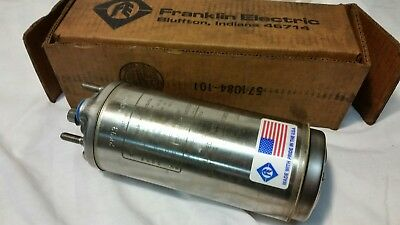 Franklin Electric Submersible Well Pump motor 1/3HP 3 Wire 115v 2145024416 new!