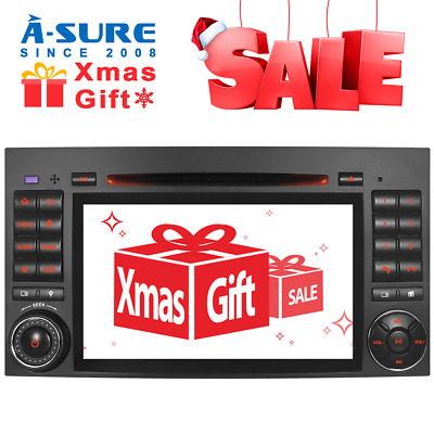 Android 8.1 Car stereo GPS for Mercedes Benz A/B Class Sprinter W906 VW Crafter