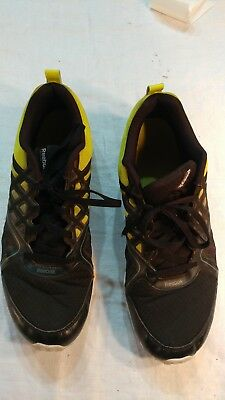 601766eb884 Reebok Training Men s Size US 14 M 039501 black green Athletic Running Shoes
