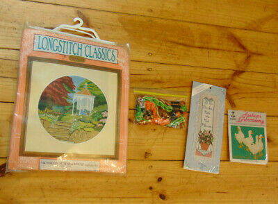 30 Embroidery Jemima Puddle Duck Bunnykins Kits Rings Oblong Semco
