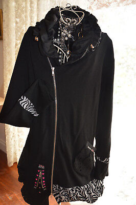 ***  Designer  *** Holmes And Fallon *** As New Worn Once * Coat Dress * Sz Xl