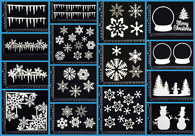 White Chipboard - Christmas - Collection Five