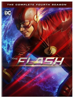 The Flash: The Complete Fourth Season 4 (DVD, 2018, 5-Disc Set) NEW