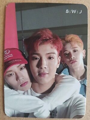 MONSTA X SHOWNU WONHO JOOHEON Official PHOTOCARD TAKE.1 ARE YOU THERE? 2nd Album