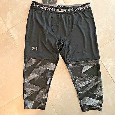 664d60fab166e NWT MENS UNDER Armour SC30 3/4 Compression Basketball Leggings 1285007-411,  Smal - $12.99 | PicClick