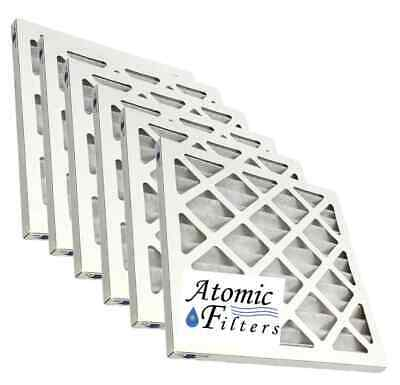 Atomic 14x14x1 MERV 8 Pleated Ac Furnace Filter - 6 Pack