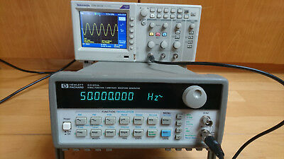 HP/Agilent 33120A Funktion/Arbitrary/Waveform-Generator