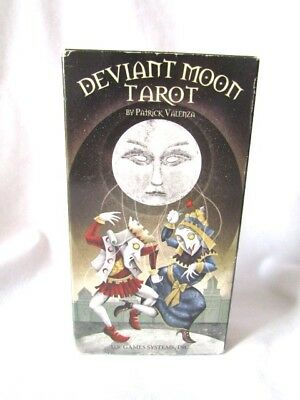 Deviant Moon Tarot by Patrick Valenza Boxed 78 card set and guidebook