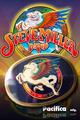 Steve Miller Band 1977 Vintage Pacifica Belt Buckle BEAUTIFUL! Fly Like an Eagle
