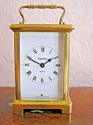 8 Day Bayard Duverdrey & Bloquel French Carriage Clock In Good Condition