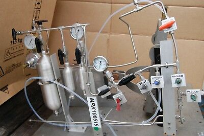 Hydrogenation  Apparatus  App  air driven compressed gas  manifold  Gast drive